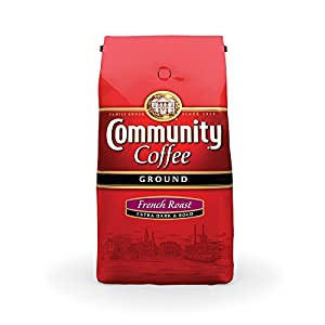 Community Coffee Ground Coffee, Dark Roast, 32-Ounce Bags (Pack of 2) by Community Coffee