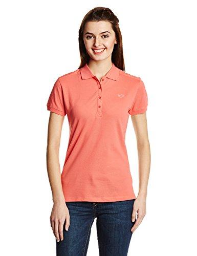Madame Madame Women's Polo T-Shirt (Multicolor)