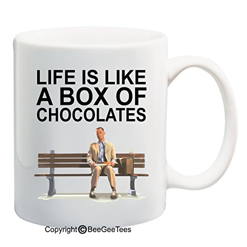 Life Is Like A Box Of Chocolates! - 15 Oz Funny Forrest Gump Mug By Beegeetees 08263