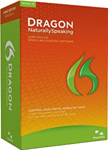 Dragon NaturallySpeaking Home 12.0, English