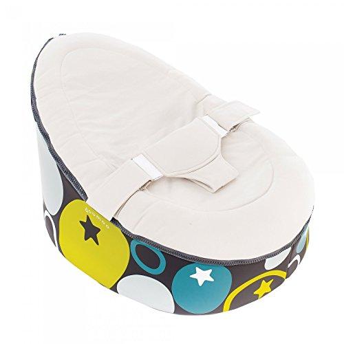 doomoo pouf transat gris pierre avis test pas cher. Black Bedroom Furniture Sets. Home Design Ideas