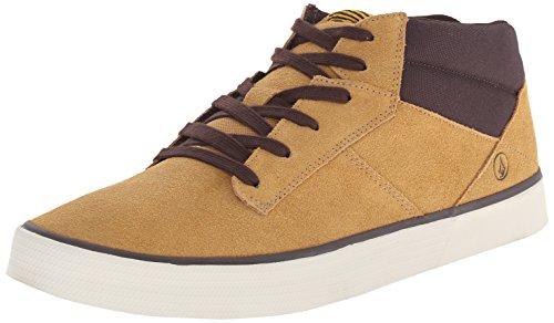 Volcom Grimm Mid 2 Shoe, Sneaker alta uomo, Beige (Beige (Khaki KHA)), 42.5