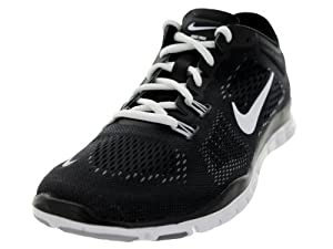 Nike Women's Free 5.0 TR Fit 4 Black/White/Cool Grey/Wlf Grey Training Shoe 7.5 Women US