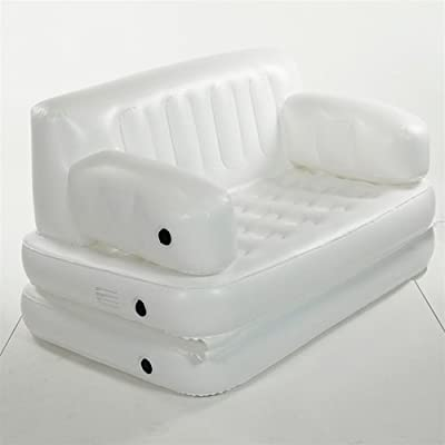 Smart Beds Queen Size Inflatable Sofa White Ebay cool bedding