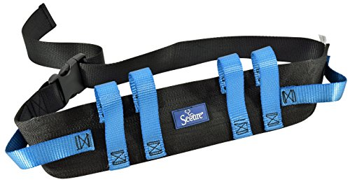 Secure Transfer Walking Gait Belt w/ 6 Hand Grips & Durable Quick Release Buckle (Medical Belt compare prices)