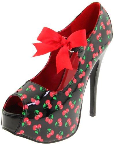Pinup Couture Teeze-25-3 - sexy retro scarpe decollete con i tacchi alti e plateau 36-42, US-Damen:EU-41/42 / US-11 / UK-8