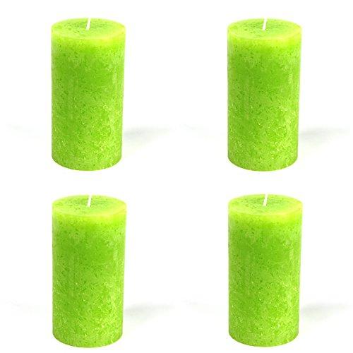4-x-rustic-cylindrique-bougies-vert-citron-jaune-citron-oe-68-x-130-mm-lot-de-4-bougies-pilier-de-bo