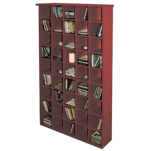 PIGEON HOLE - CD Media Storage Shelves - Mahogany Black Friday & Cyber Monday 2014