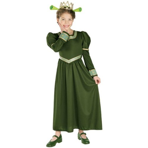 Shrek 2 Princess Fiona Kids Costume