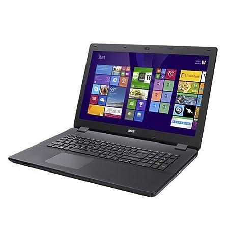"""Acer Aspire ES1-711-C5U2 PC Portable 17"""" Noir (Intel Celeron, 4 Go de RAM, Disque Dur 1 To, Mise à jour Windows 10 gratuite)"""