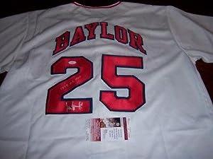 Don Baylor Autographed Jersey - 1979 Al Mvp Jsa coa - Autographed MLB Jerseys by Sports+Memorabilia