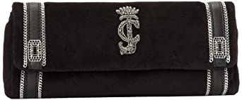 Juicy Couture Suze YHRU3325-1 Clutch,Black,One Size