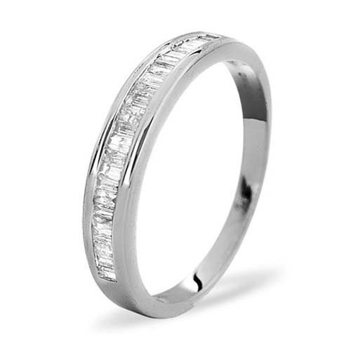 Diamond Ring 0.33 carat - 18ct White Gold Eternity