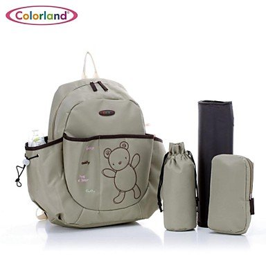 FGMLA Colorland@Mummy Bag multifunctional large capacity fashion shoulders mummy bag labor four piece suit pregnant bag