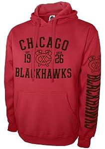 NHL Chicago Blackhawks Pullover Hood, Red, XX-Large