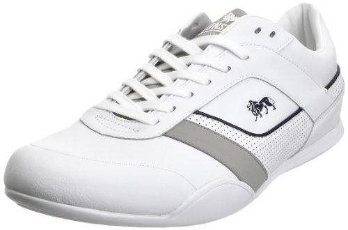 Lonsdale Men's Davis White/Grey Trainer LMA314 13 UK
