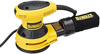 DEWALT D26451 3-Amp 5-Inch Random-Orbit Sander with Cloth Dust Bag