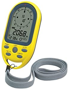 Technoline Kompass EA 3050, Gelb, 5,4 x 10,3 x 1,7 cm