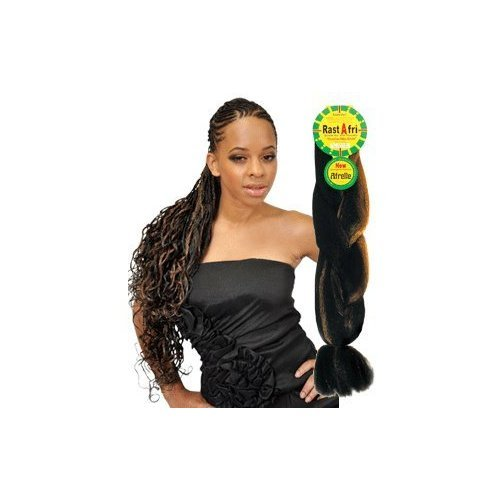 Rasta Fri Braids (3 Piece Pack for $10) (Brown mixed with honey blonde #4/27)