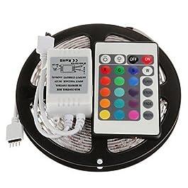 Ch&Ch 5m 300x5050 SMD rgb luce di striscia principale con telecomando 24key (DC12V)