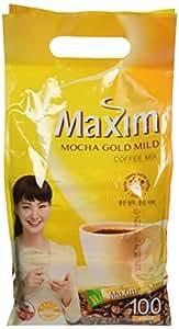 Maxim Mocha Gold Korean Instant Coffee - 100pks