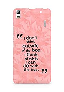 AMEZ i dont think out of the box Back Cover For Lenovo K3 Note