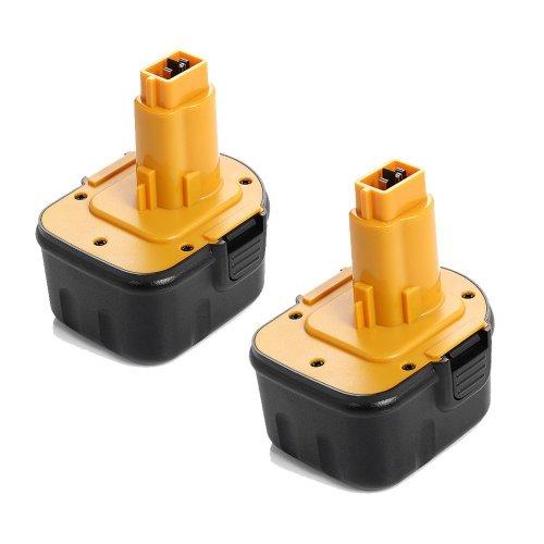 Epowerengine® 2 Pack 12V 2000Mah Battery Replacement For Dewalt Dc9071 De9037 De9071 De9074 De9075 Dw9071 Dw9072 Dc Dw Series Power Tool front-369294