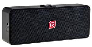 Raikko POCKET Beat 2.0 Bluetooth Stereo mobiler mini aktiv Lautsprecher inkl. Akku (2x 3 Watt, micro-USB, Line-IN) schwarz