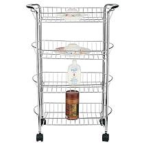 4 Tier Better Chef Storage Cart