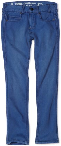 Quiksilver Boys 8-20 Evol Thoughts Worn Out Blue Jean, Worn Out Blue, 23