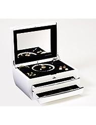 Buben & Zorweg Cosmopolitan Jewelry Case In Piano-White