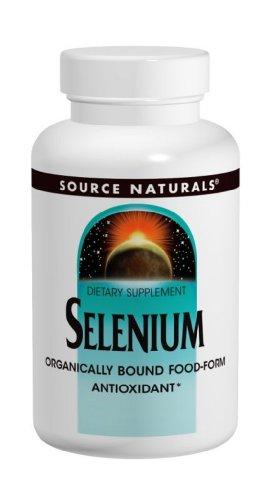 Source Naturals sélénium, 200mcg, 60 comprimés