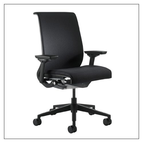 Steelcase Think Chair(R) - Buzz2 Fabric, color = Black
