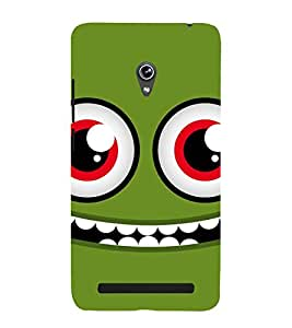 ANIMATED CARTOONISH CROCODILE EYES 3D Hard Polycarbonate Designer Back Case Cover for Asus Zenfone 6 A601CG :: Asus Zenfone 6 A600CG