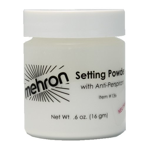 mehron UltraFine Setting Powder with Anti-Perspriant - Neutral