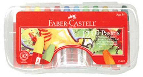 Faber-Castell 12 Count Oil Pastels - 1