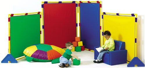 Childrens Factory Big Screen Rainbow Christmas Amp New