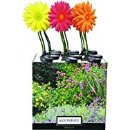 Woods Ind. 92205FD Daisy Stake Light Lawn Ornament-METAL DAISY STAKE LIGHT