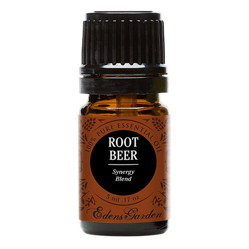 Root Beer Synergy Blend Essential Oil by Edens Garden (Black Pepper, Camphor, Lemongrass, Peppermint, Vetiver and Wintergreen)- 5 ml