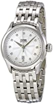 Oris Artelier Diamond Stainless Steel Ladies Watch 561-7604-4041MB