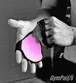 Womens Gym Glove | Alternative to Weightlifting Gloves | Leather Gym Glove | Pink