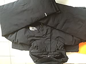 The north face plasma jkt black L