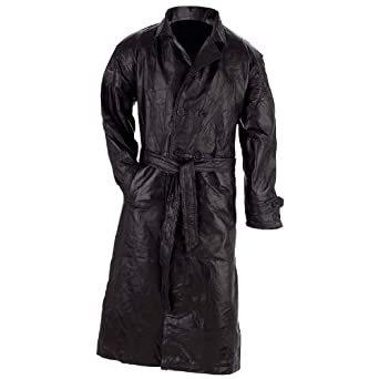 Buy Genuine leather Trench Coat - Style GFTRM by Giovanni+Navarre