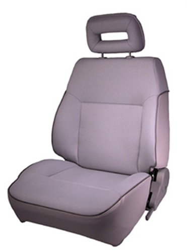 Rugged Ridge 53420.09 Gray  Factory Replacement Front Driver Seat with Recliner (Recliner Replacement Parts Bolt compare prices)