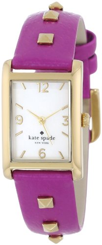 kate spade new york Women's 1YRU0244 Baja Rose Pyramid Cooper Strap Watch