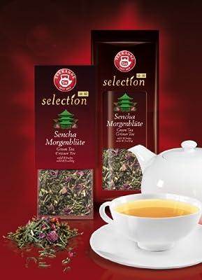 Teekanne Selection 1882 im Luxury Bag - Sencha Morgenblüte - mild, fruchtig, 20 Portionen, 1er Pack (1 x 80 g) von Teekanne bei Gewürze Shop