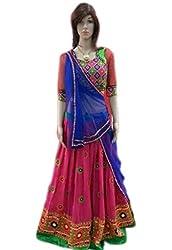 Try n get's Pink Color Georgette Designer lehenga