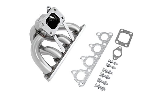 Manzo USA Honda Civic/CRX/Del Sol D-Series Stainless Steel Exhaust Turbo Manifold (D Series Turbo Manifold compare prices)