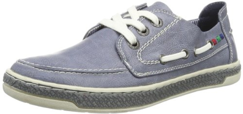 Marco Tozzi Premio Womens 2-2-23600-22 Low Top Blue Blau (DENIM ANT.COMB 857) Size: 39