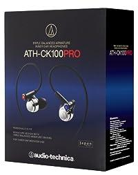 audio-technica トリプル・バランスド・アーマチュア型インナーイヤーヘッドホン ATH-CK100PRO